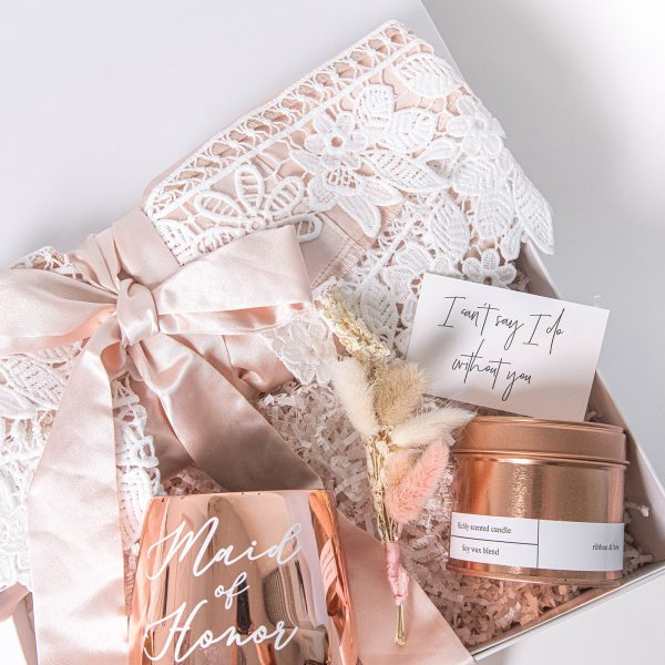 The Bridesmaid - rose gold gift