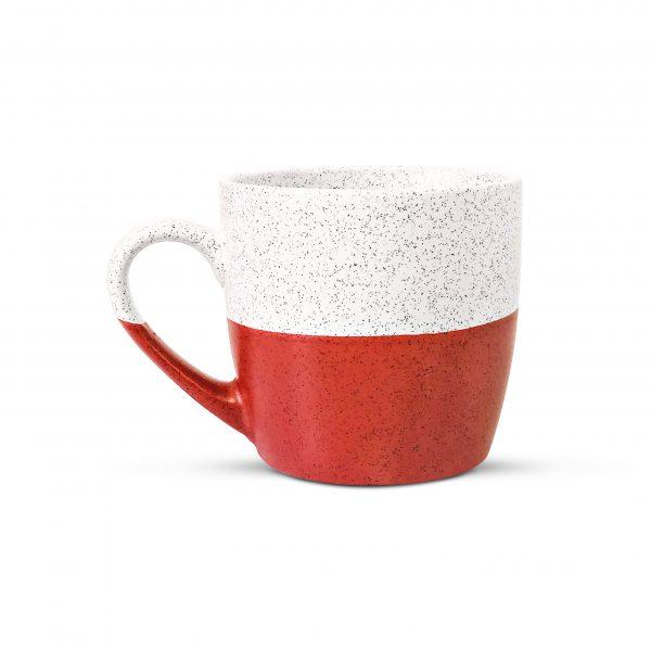 Terracotta speckled mug