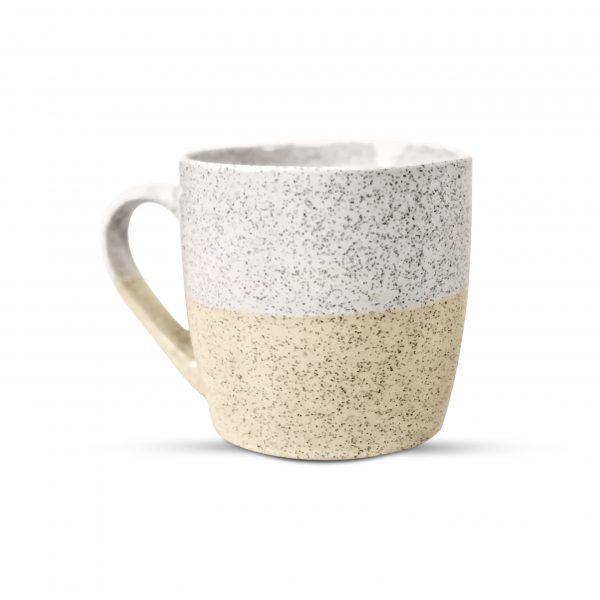 Sand speckled mug
