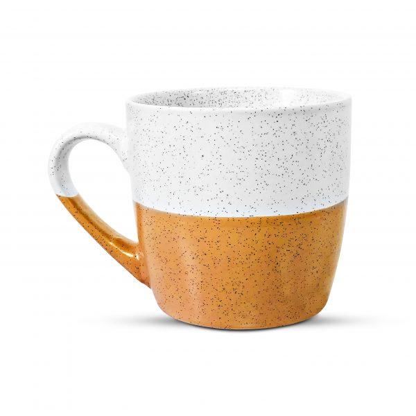 Caramel speckled mug