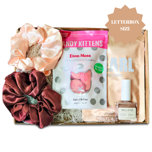 Pink pamper letterbox gift