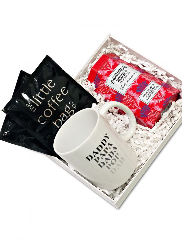 Father's Day gift box with coffee