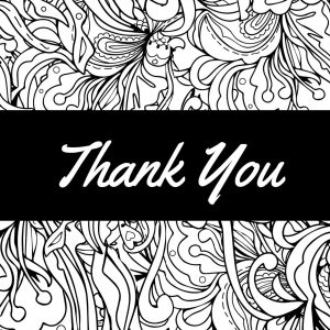 Thank You Pattern card